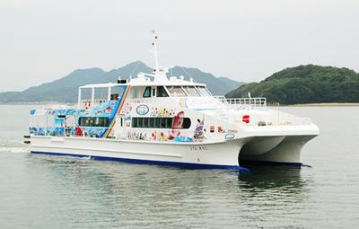 新造高速船「まりん・あわじ」