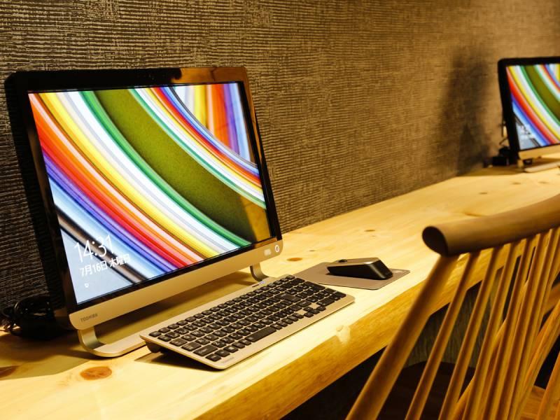 全客室でWi-Fi(無料)が利用可能です