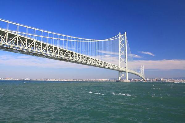明石海峡大橋を渡って淡路島へETCで910円!