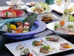 【四季彩ダイニング「浜房」】桜鯛と淡路牛ステーキを味わう創作会席
